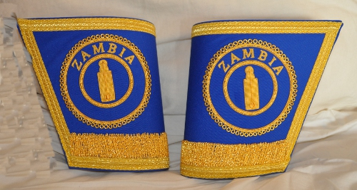 Craft Provincial / District Gauntlets with Badges [Pair]