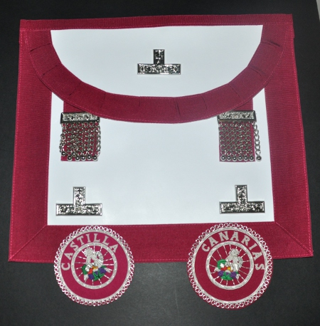 Craft District Stewards Apron [Levels] & Badge - (Spanish)