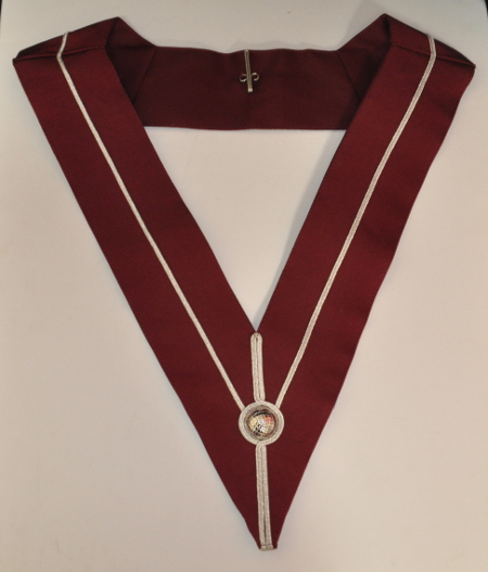 Provincial Stewards Collar [Past Rank] - Large - Maroon