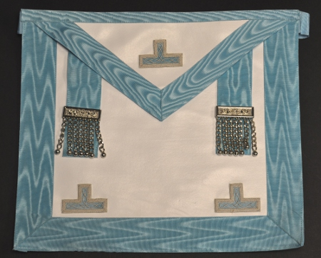 Craft Worshipful Masters Apron - Leather - embroidered levels