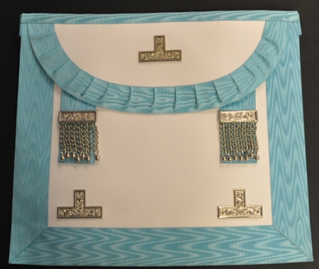 Craft Worshipful Master Apron - Leather (Spanish)