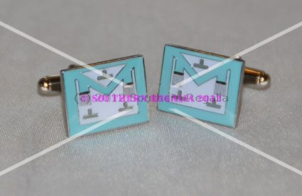 Craft WM Apron Enamel Cufflinks