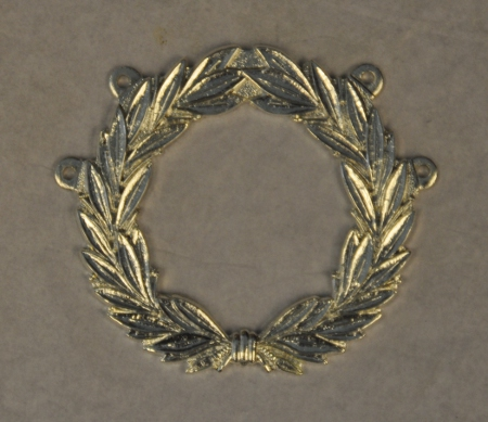 Craft Chain Metalwork - Wreath (Large) - silverplated