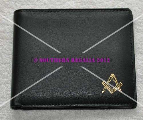 Masonic Wallet - Square & Compasses