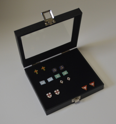 Cufflink and Jewellery Storage Box - Medium
