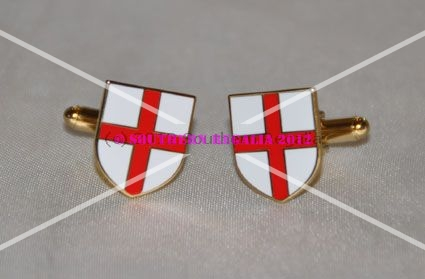 England Shield Cufflinks