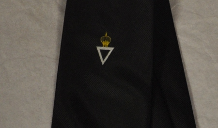 Tie - Royal & Select Masters Logo