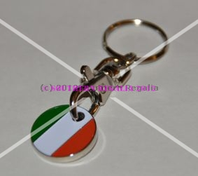 Irish 3-in-1 Keyring Trolley & Locker Token