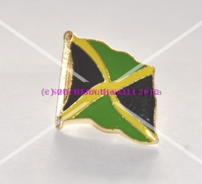 Jamaica Flag Enamel Lapel Pin Badge