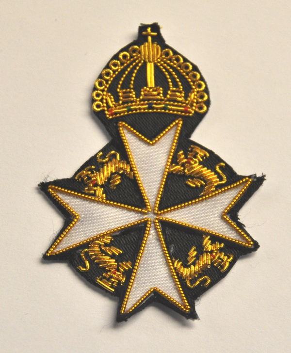Knights Malta - Great Prior - Cap Badge - Embroidered