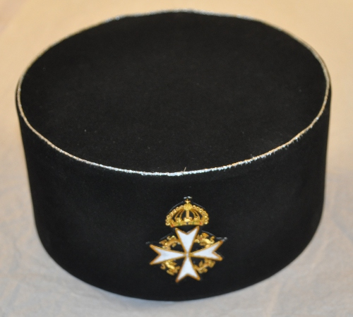 Knights Malta - Great Prior - Cap & Badge - Embroidered