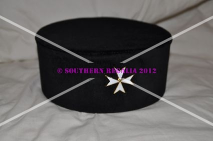 Knights of Malta - Knights Cap with Badge