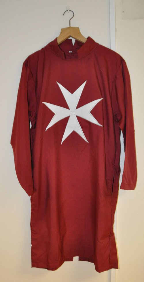 Knights of Malta Tunic (Maroon - Some Non English)