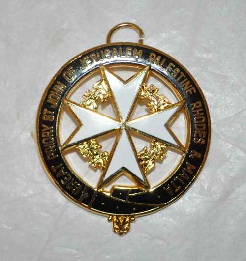 Knights of Malta Great Priory Collarette Jewel