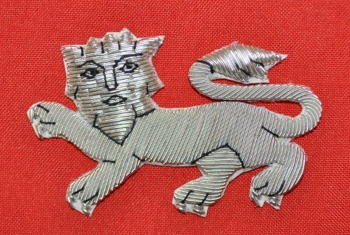 Knights Malta - Great Prior - Lion Mantle Badges - Embroidered