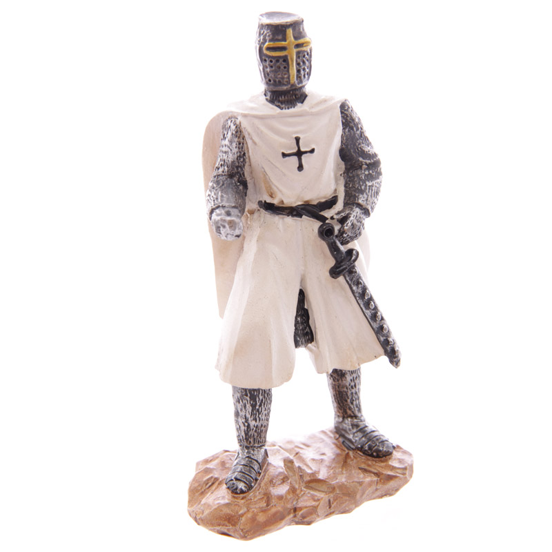 Knight Crusader - Standing without Shield (12.5cms)