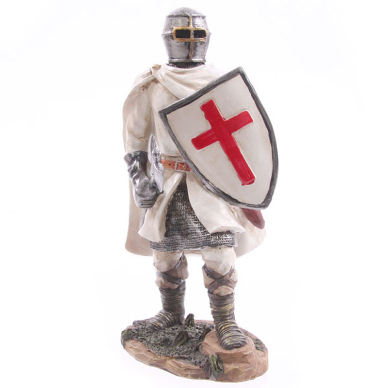 Knight Crusader - Standing with Battleaxe (20 cms)