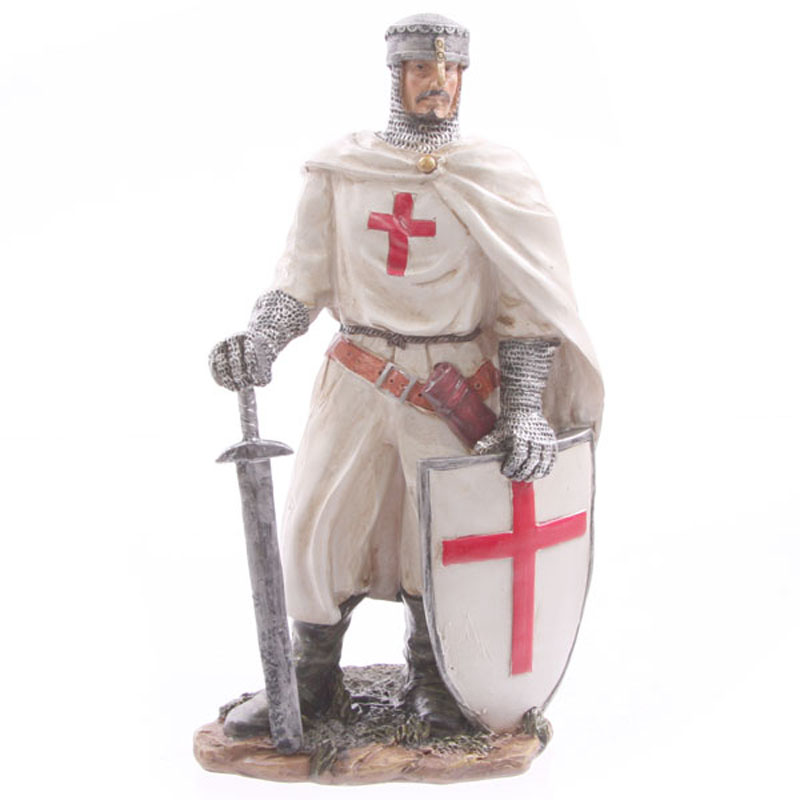 Knight Crusader - with Sword and Shield (20 cms)
