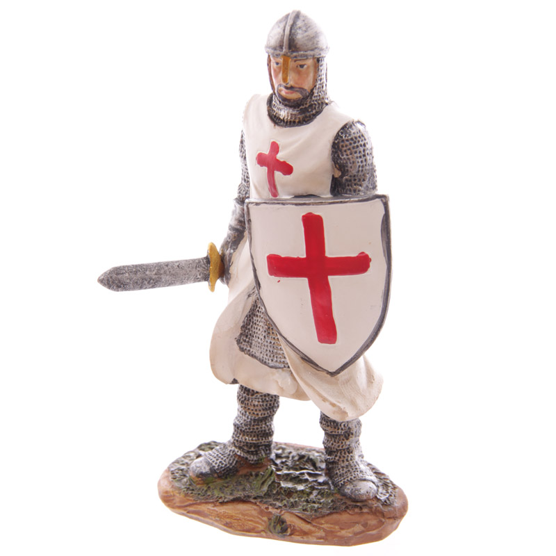 Knight Crusader - Carrying Sword (16 cms)