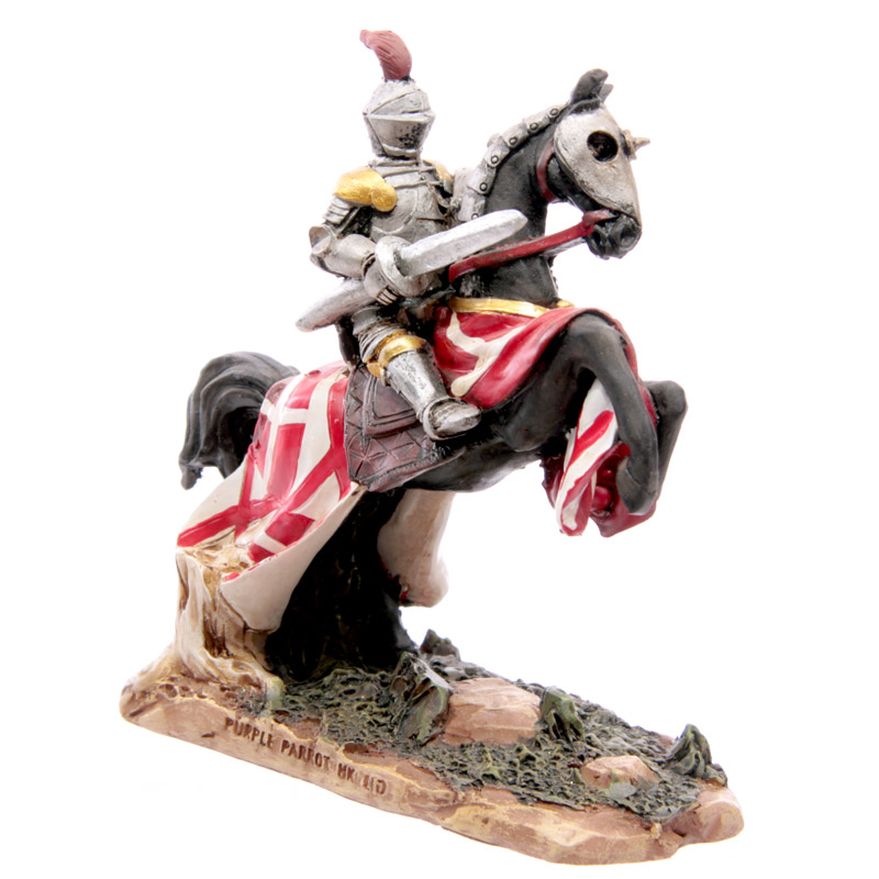 Knight Crusader - Charging Horseman with Lance