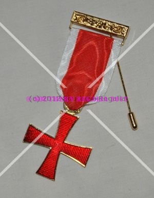 Knights Templar Breast Jewel - Cross