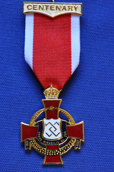 Knights Templar Preceptory Centenary Breast Jewel