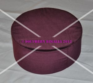 Knights Templar Maroon Cap [without Badge]