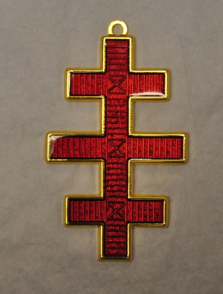 Knights Templar - Grand Master - Colarette Jewel (salem cross)