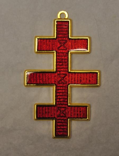 Knights Templar Grand Master Colarette Jewel Salem Cross