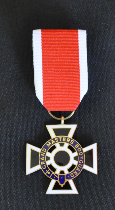 Knights Templar Grand Masters Bodyguard Breast Jewel