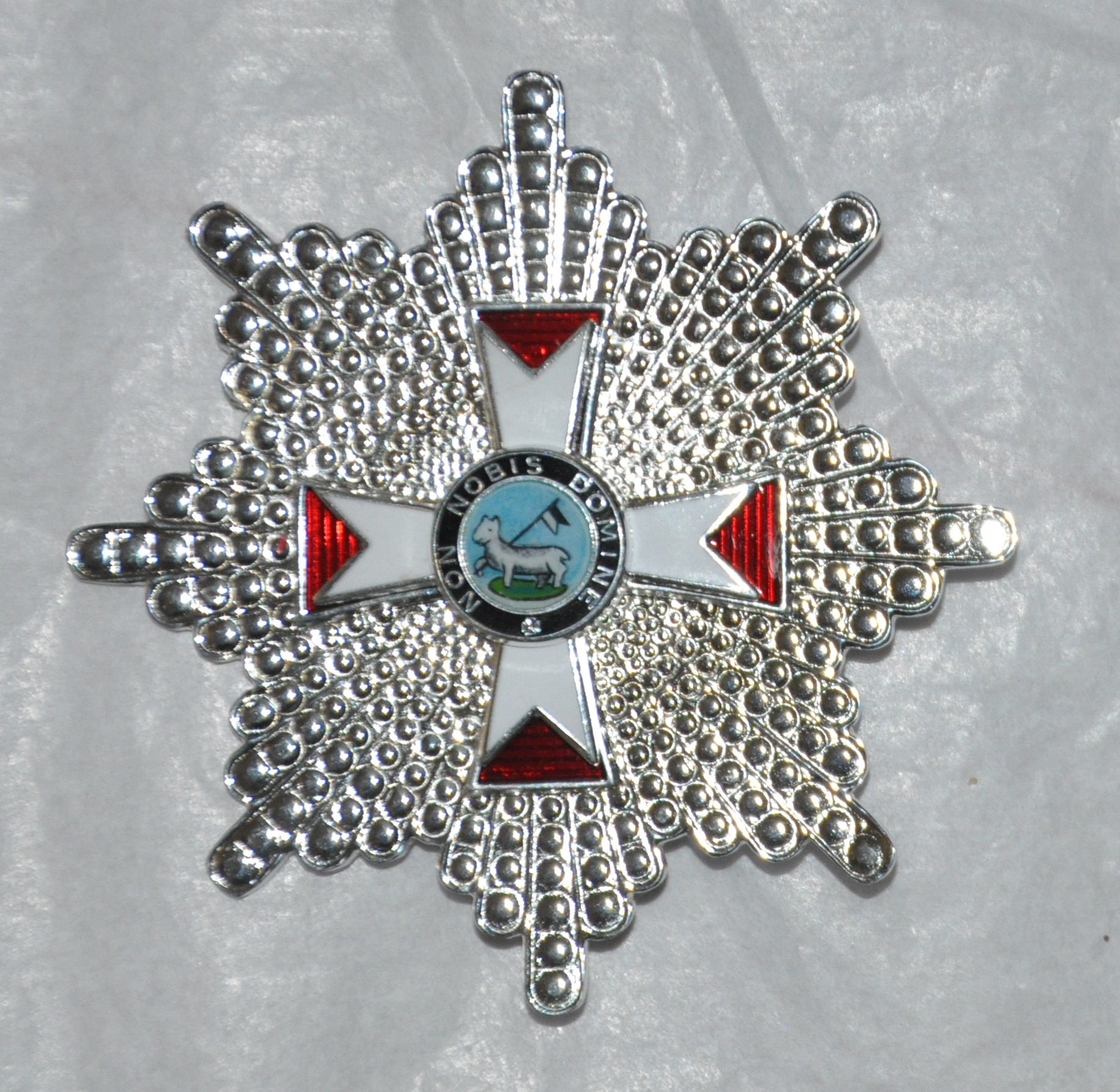 Knights Templar - (GCT) Knight Grand Cross - Breast Star