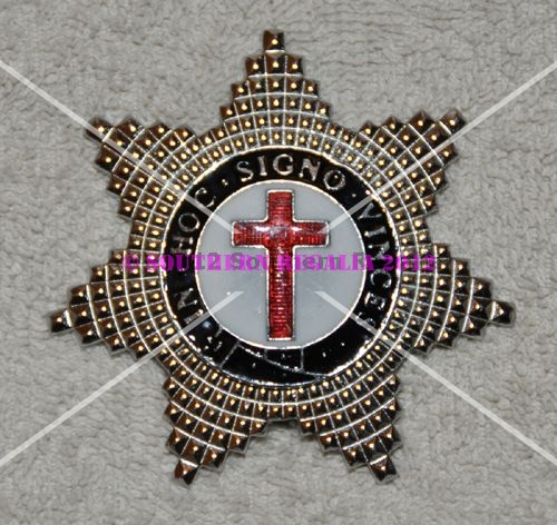 Knights Templar Knights Breast Star