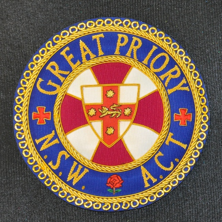 Knights Templar District / Great Priory Mantle Badges