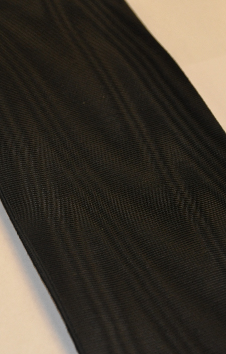 Black Sash Ribbon - 100 mm (50cms)