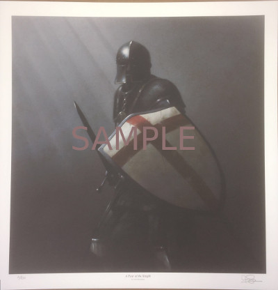 Knight Templar Crusader - Limited Edition Print #3