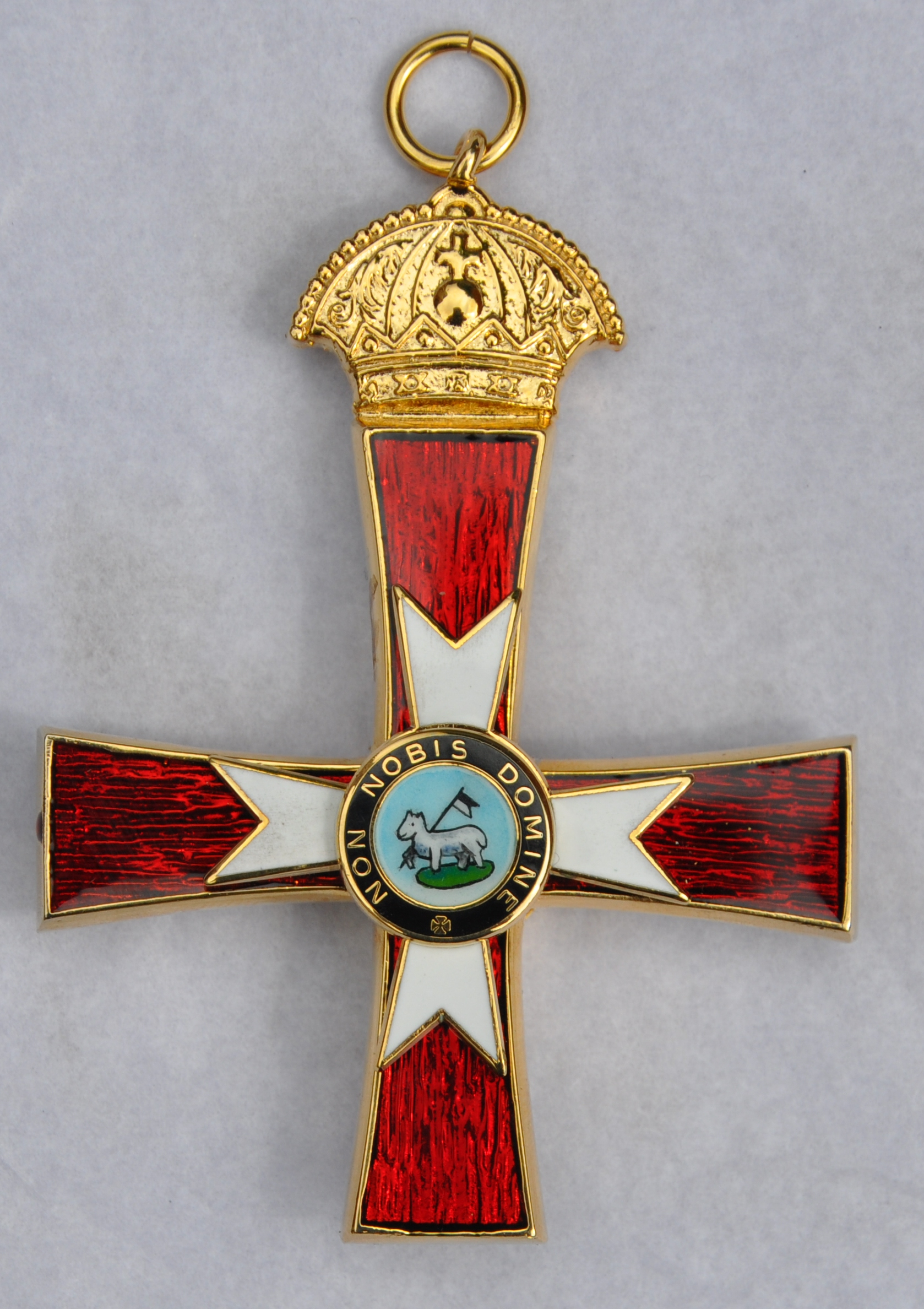 Knights Templar - (GCT / KCT) - Chain Jewel