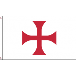 Knights Templar Cross (5' x 3') with eyelets