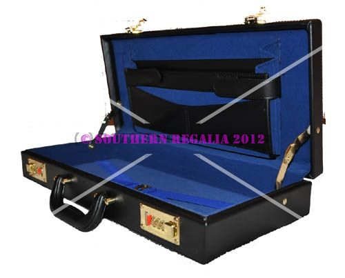 Regalia Briefcase - Imitation Leather Half Size [MM / WM]