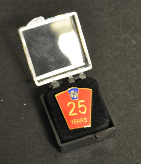 Mark 25 year Lapel Pin