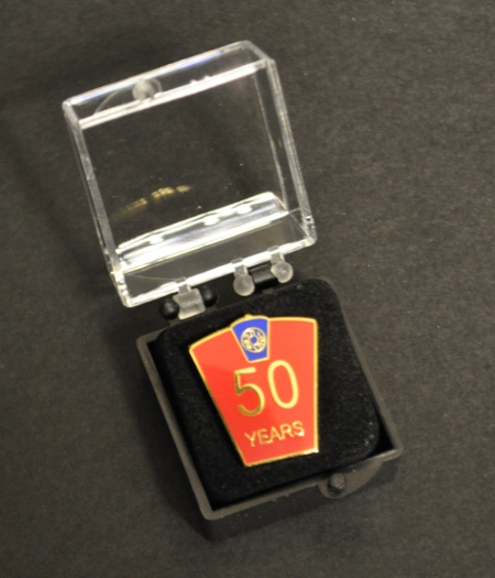 Mark 50 year Lapel Pin