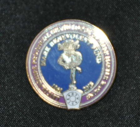 Mark Benevolence Lapel Pin - Lincolnshire
