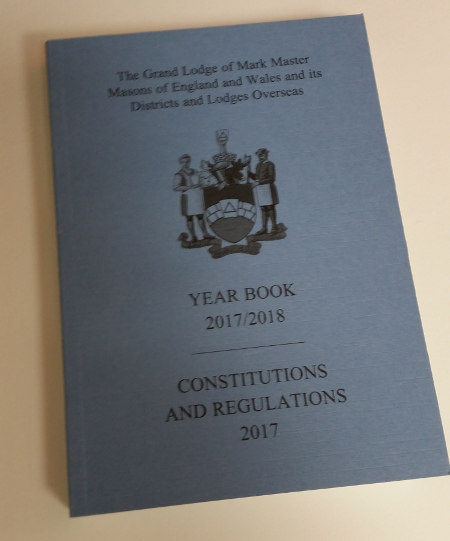 Mark - Book of Constitutions & Year Book 2017-2018