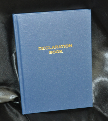 Mark Declaration Book