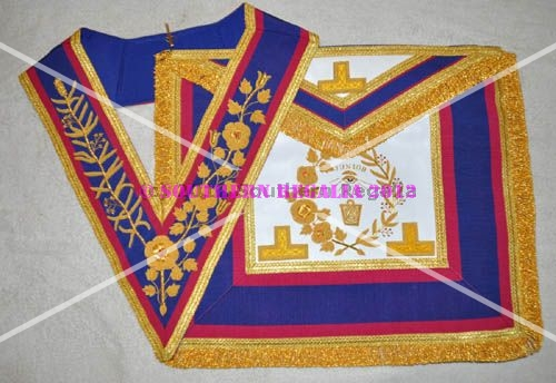 Mark Grand Officers Full Dress Apron & Collar