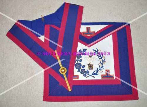 Mark Grand Officers Undress Apron & Collar