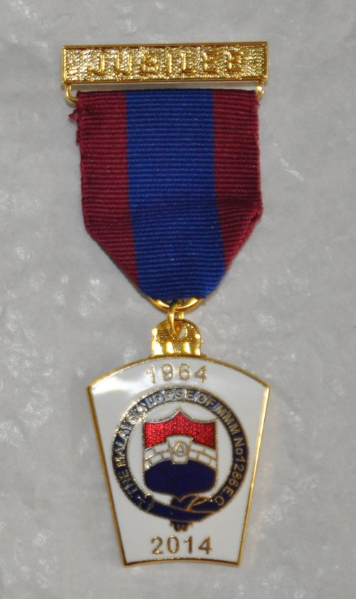 Mark Lodge Jubilee Breast Jewel (20-29 items)