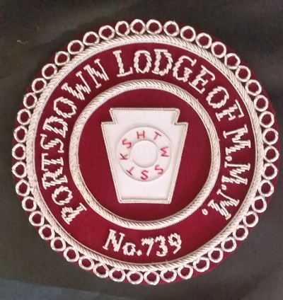 Mark Lodge Apron or Gauntlet Badges