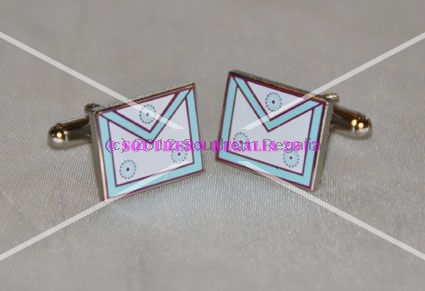 Mark Member Apron Cufflinks
