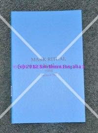 Mark Master Masons Regalia: Apron, Collars, Jewels, Gifts & Regalia