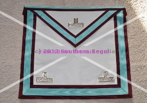 Mark Worshipful Masters Apron - Leather